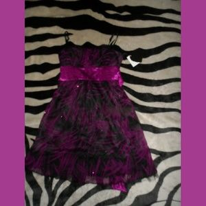 Sparkly Purple Heart Soul Kohl's Dress BNWT